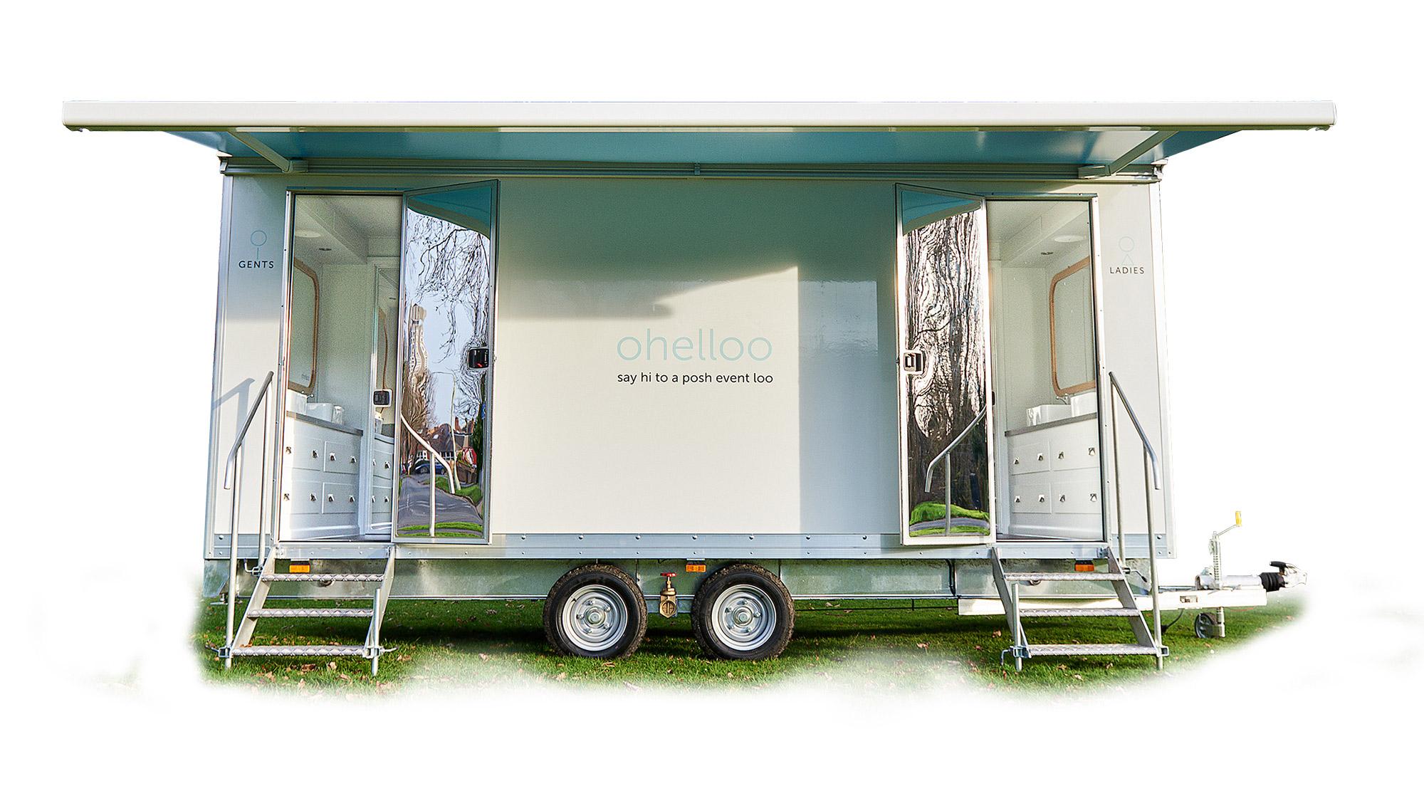 Luxury Toilet Hire | Posh Portable Loos | Portable Toilets for Weddings