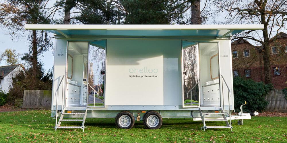Nice Mobile Bathroom Hire - Ohelloo Posh Portable loos - Leicestershire UK